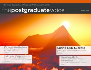 Postgraduate Voice Spring 2013
