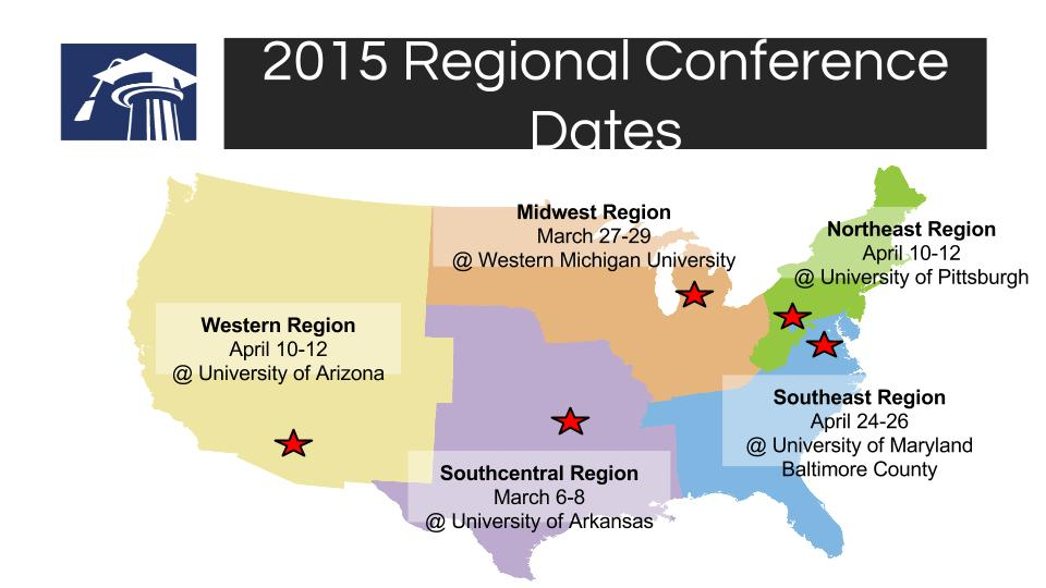 Regional Conference Dates